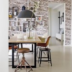 12-tapet decorativ imitatie caramida decor dining vintage