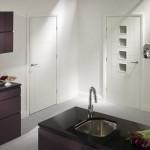 12-usi albe de interior decor bucatarie moderna mobila wenge