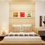 13-amenajare dormitor mobilier furnir de lemn