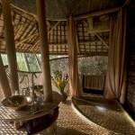13-baie casa din bambus complex Green Village Indonesia Bali
