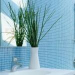 13-baie finisata cu mozaic culoare bleu decor conform regulilor Feng Shui
