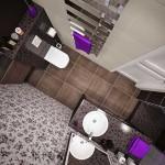 13-baie moderna amenajata in gri wenge si negru
