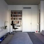 13-birou si spatiu de lucru amenajat in interiorul unui dormitor modern