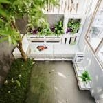13-canapea din paleti reciclati in curtea casei