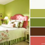 13-combinatii de vernil cu roz somon si crem decor dormitor