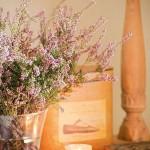 13-detaliu decor aranjament floral si lumanari