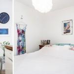 13-dormitor alb stil scandinav casa mica fara etaj 54 mp