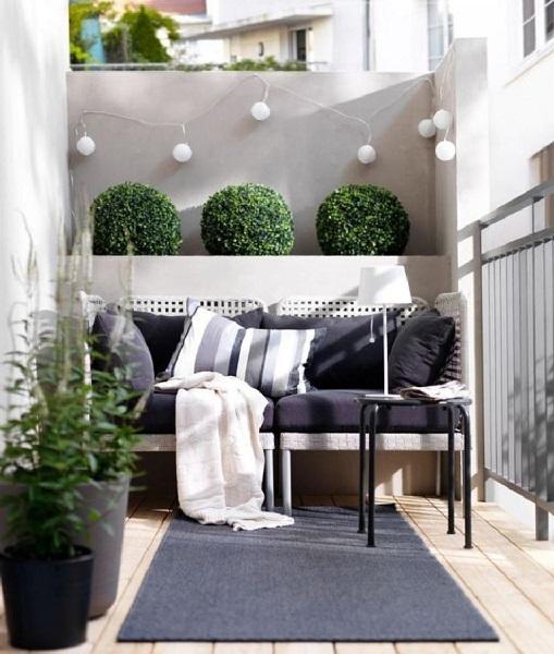 13-exemplu de amenajare a unui mic balcon in stil nordic