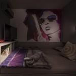 13-fototapet inspirat de bezi animate decor dormitor modern retro