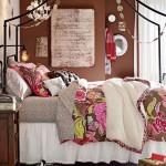 13-lenjerie de pat cu imprimeu floral decor dormitor boho chic