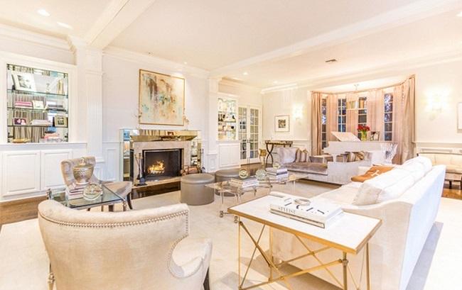 13-living alb casa Jennifer Lopez dupa renovare