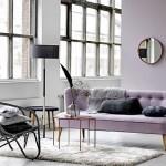 13-living decorat in tonuri de gri violet Lilac Gray