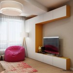 13-mobila alba cu galben in amenajarea camerei copilului