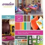 13-paleta cromatica in culori intense pentru un decor potrivit unei firi creative