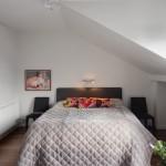 13-pat tapitat dormitor mansardat apartament cu 4 camere Stockholm