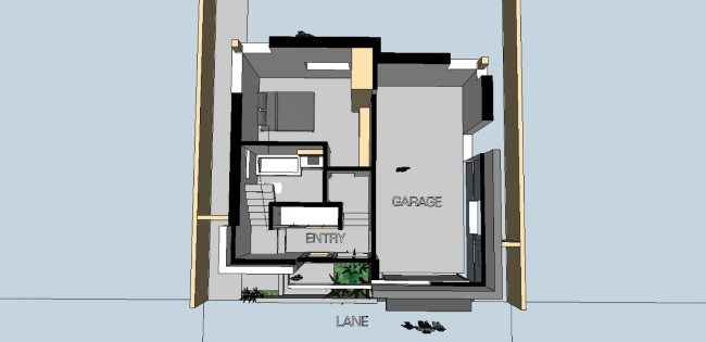 13-plan 3d parter casa 74 mp cu garaj