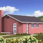 13-proiect casa stil mediteranean 80 mp doar parter cu 2 dormitoare