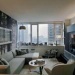 13-sufragerie moderna mica decor minimalist in alb negru si gri