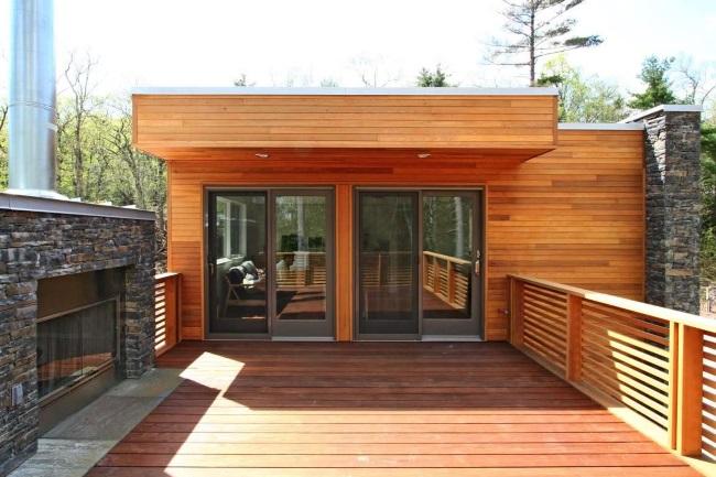 13-terasa din lemn pe acoperis casa modulara prefabricata design modern
