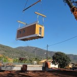 13-transportare casa modulara bioclimatica digitala la locatia finala design NOEM Spania