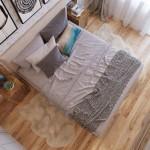 13-vedere de sus dormitor matrimonial scandinav rustic