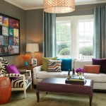 14-accente cromatice colorate decor living amenajat in stil eclectic