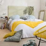 14-accente decorative galbene in amenajarea unui dormitor relaxant