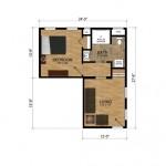 14-apartament aditional casa proiect pe colt Ravenswood