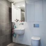 14-baie moderna minimalista finisata in alb si gri
