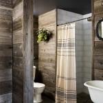 14-baie rustica placata cu scandura lemn aspect antichizat