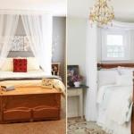 14-baldachin din voal transparent agatat deasupra patului din dormitor