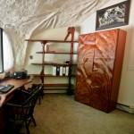 14-birou amenajat in casa forma ciuperca