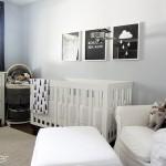 14-camera bebe decorata in alb negru si gri stil scandinav