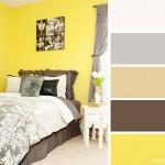 14-combinatie de galben lamaie maro bej si gri decor dormitor