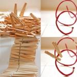 14-confectionarea unui platou pentru fructe din sarma plastifiata si clesti din lemn pentru rufe