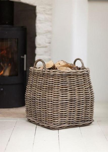 14-cos impletit pentru depozitarea si pastrarea lemnelor de foc