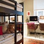 14-decor camera pentru copii cu mobilier alb si negru