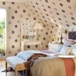 14-dormitor stil clasic amenajat in mansarda