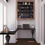 14-doua locuri de lucru cu birouri inguste amenajate intr-un mic balcon