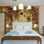 14-exemplu combinare si asortare tapet decor dormitor modern
