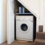 14-exemplu integrare masina de spalat sub scara interioara