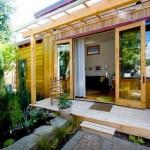 14-gradina mica din curtea casei de buzunar Portland SUA