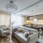 14-idee amenajare open space pentru living de apartament