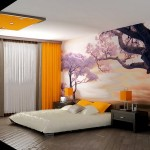 14-imagine cu copaci infloriti fototapet decorativ dormitor