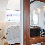 14-intrare dormitor mic apartament 3 camere stil scandinav