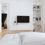 14-mobilier modular alb amenajare dormitor matrimonial modern