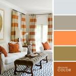 14-paleta cromatica compusa din portocaliu ocru si tonuri de maro