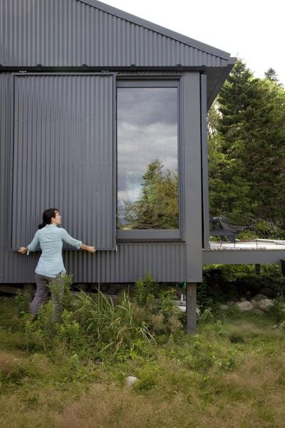 14-panouri exterioare pentru inchiderea casei pe perioadele in care nu este folosita