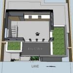 14-plan 3d etaj casa 74 mp cu garaj