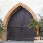 14-poarta pietonala dubla stil marocan din lemn masiv